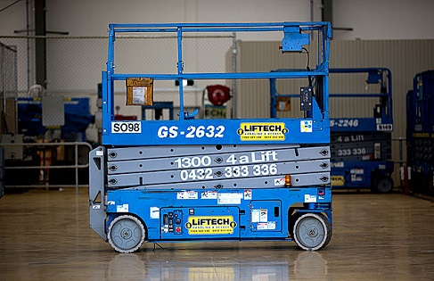 8m Narrow Scissor Lift